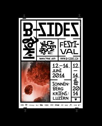174 johnson kingston ivan weiss michael kryenbuehl b sides festival 2014 plakat 2